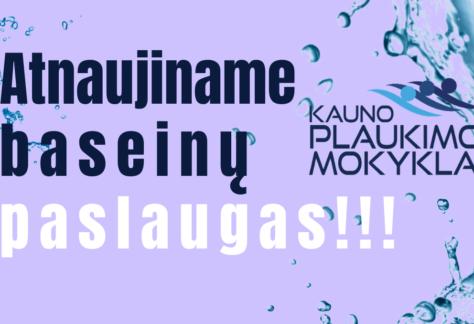 Copy of Atnaujiname baseino paslaugas
